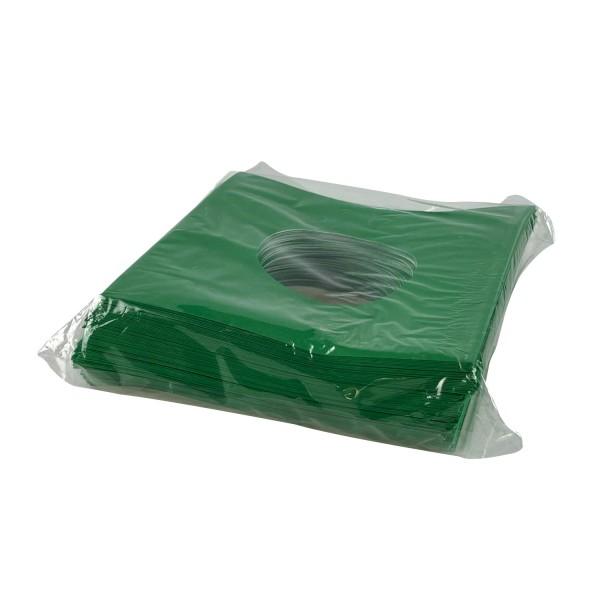 """7"""" innenschutzhülle grün (100 Stück)"""